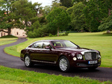 Bentley Mulsanne UK-spec 2010 wallpapers
