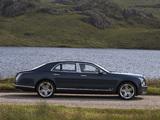Bentley Mulsanne UK-spec 2010 wallpapers