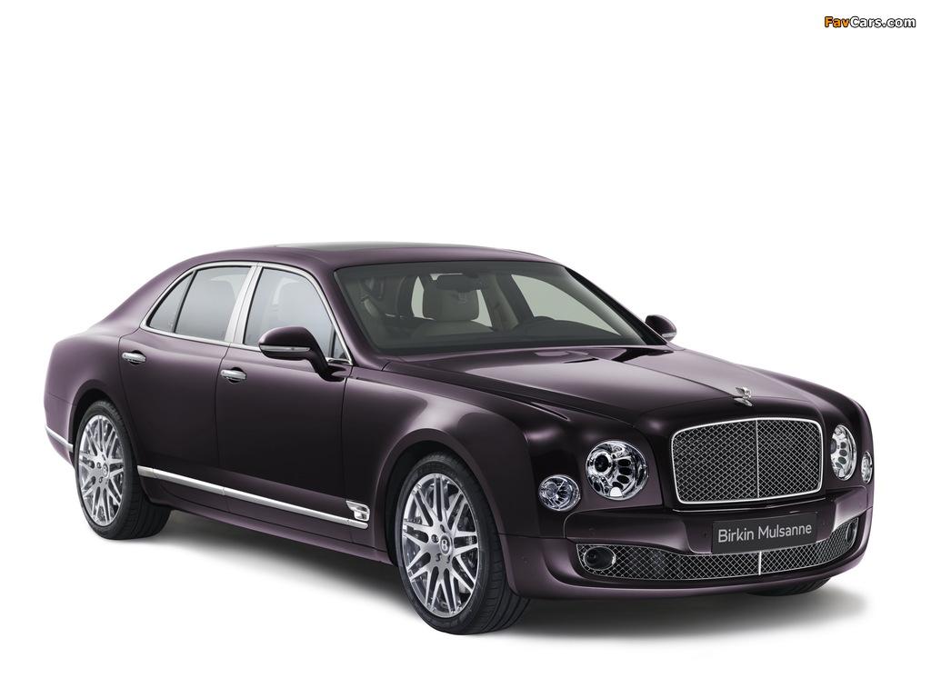 Bentley Birkin Mulsanne 2014 wallpapers (1024 x 768)