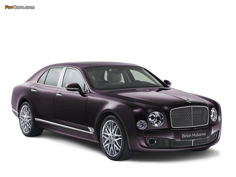 Bentley Birkin Mulsanne 2014 wallpapers (800 x 600)