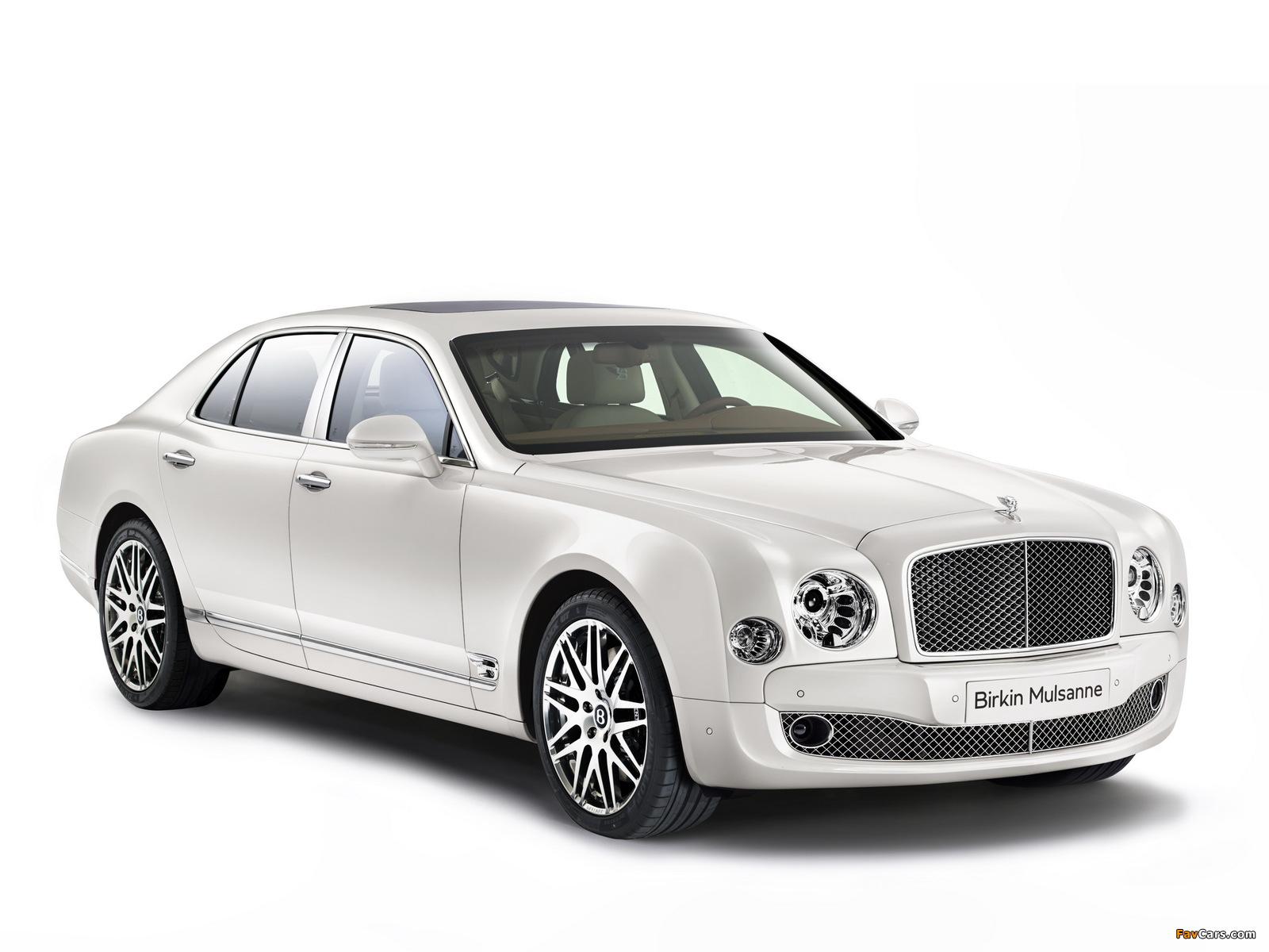 Bentley Birkin Mulsanne 2014 wallpapers (1600 x 1200)