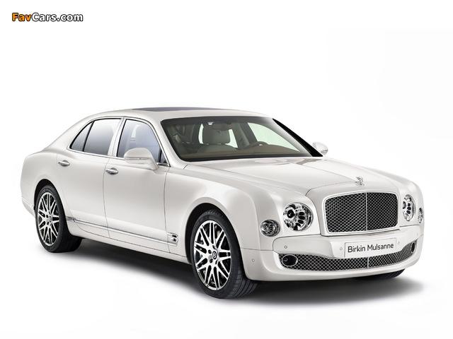 Bentley Birkin Mulsanne 2014 wallpapers (640 x 480)
