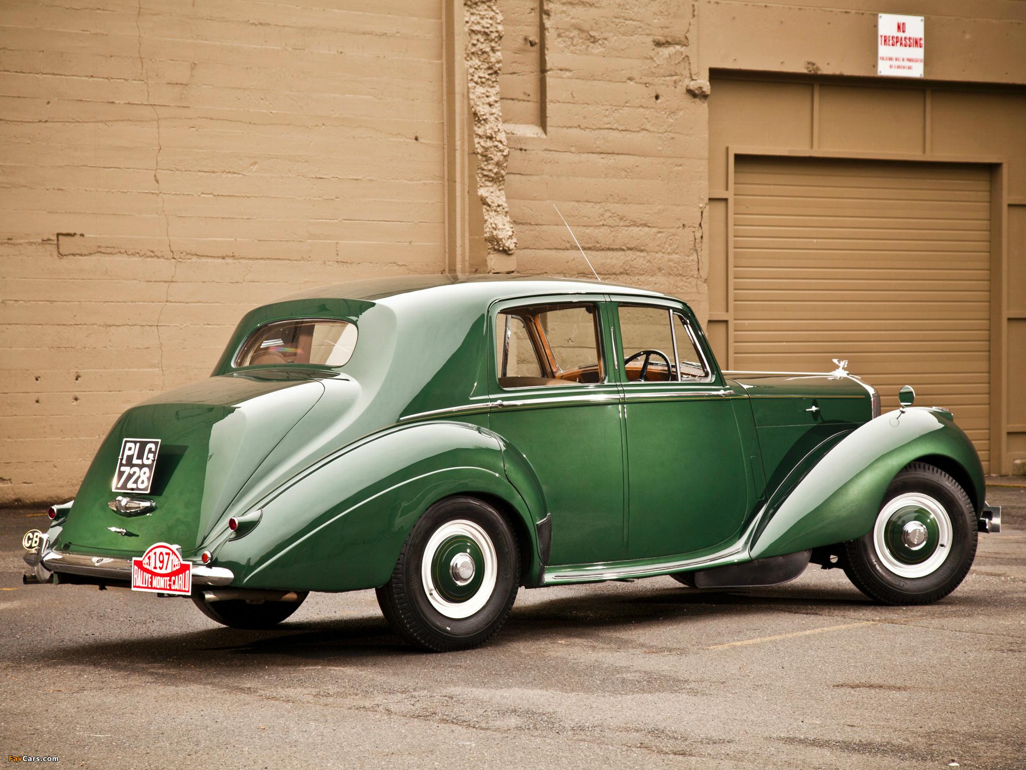 Bentley R-Type Standard Saloon 1952–55 images (2048 x 1536)