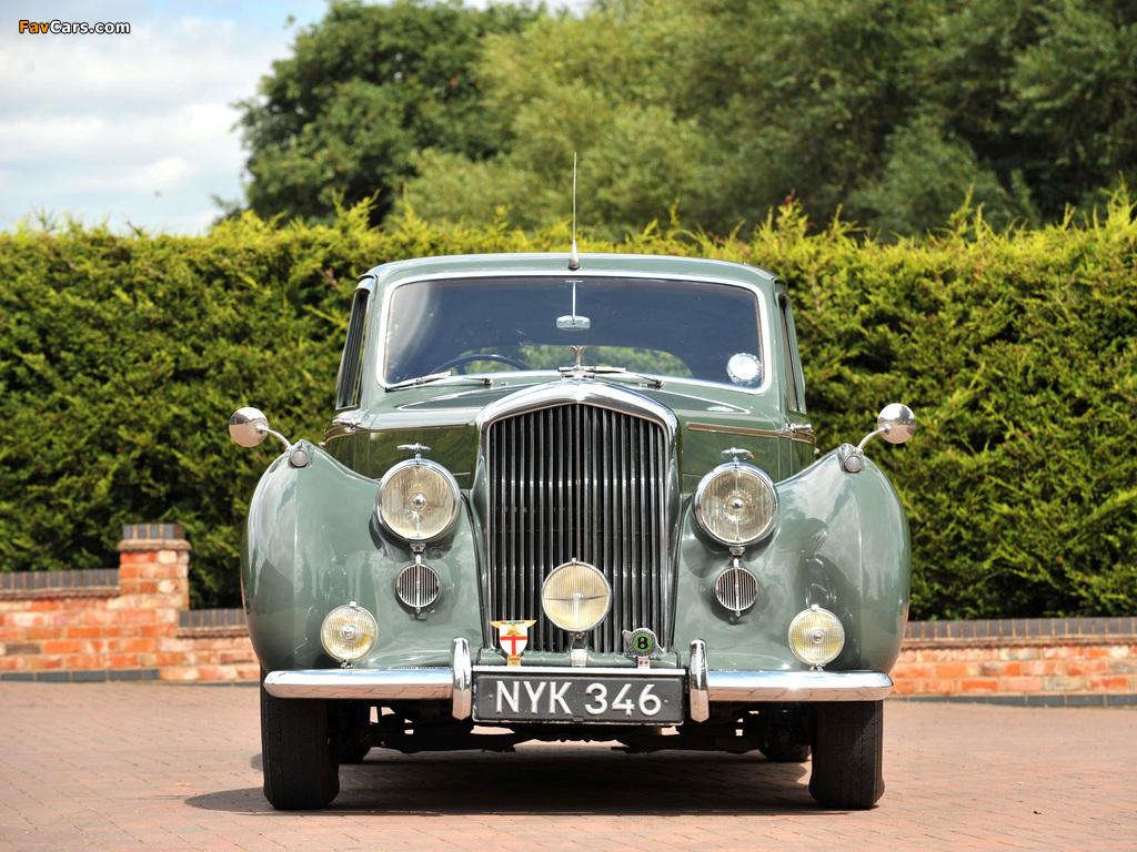Bentley R-Type Standard Saloon 1952–55 pictures (1024 x 768)