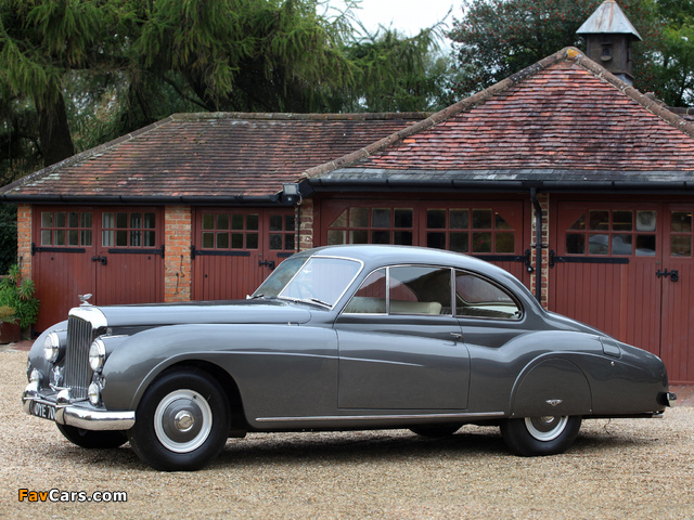 Bentley R-Type Coupe 1954–55 wallpapers (640 x 480)