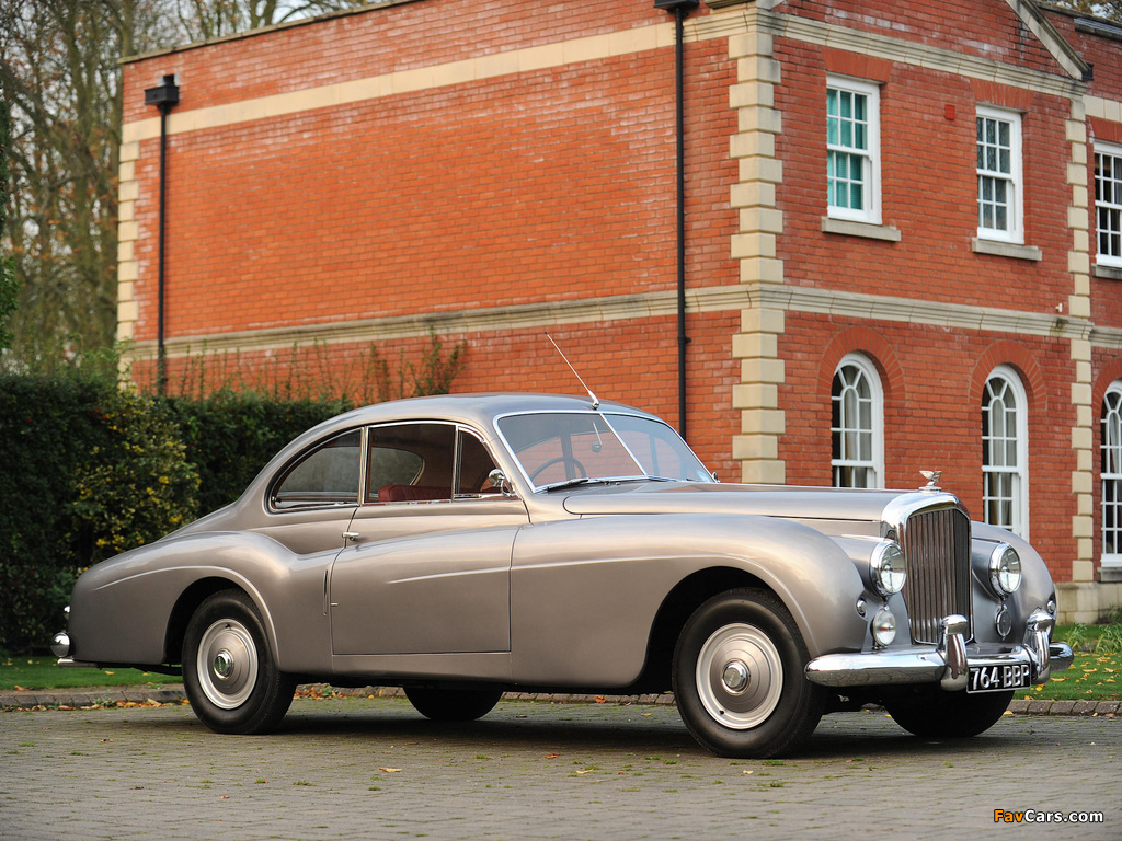 Bentley R-Type 4.6 Litre Coupe by Abbott 1954 wallpapers (1024 x 768)