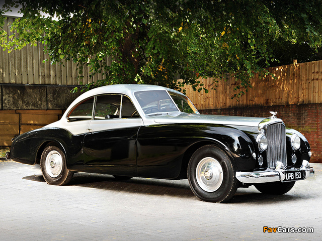 Images of Bentley R-Type 4.6 Litre Coupe by Abbott 1952 (640 x 480)