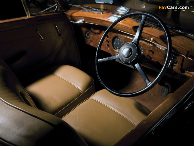Images of Bentley R-Type Drophead Coupe Park Ward 1953 (640 x 480)