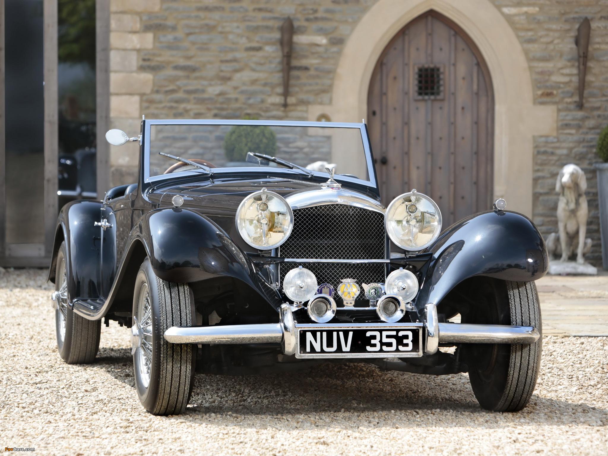 Images of Bentley R-Type Special Roadster 1953 (2048 x 1536)