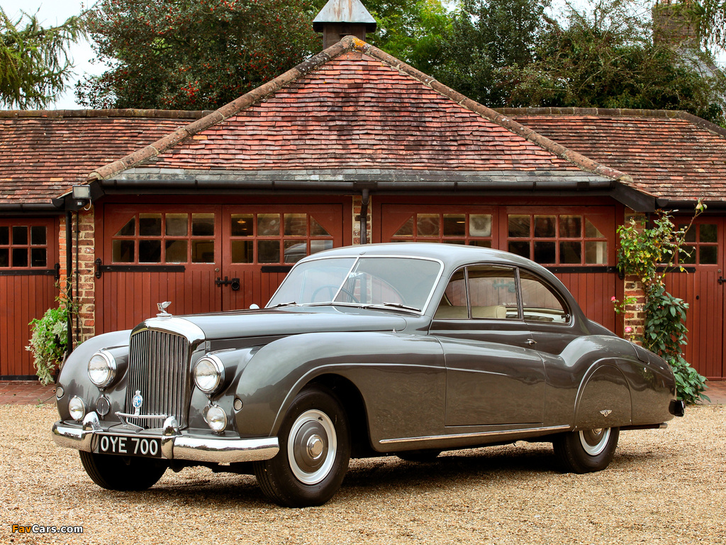 Images of Bentley R-Type Coupe 1954–55 (1024 x 768)