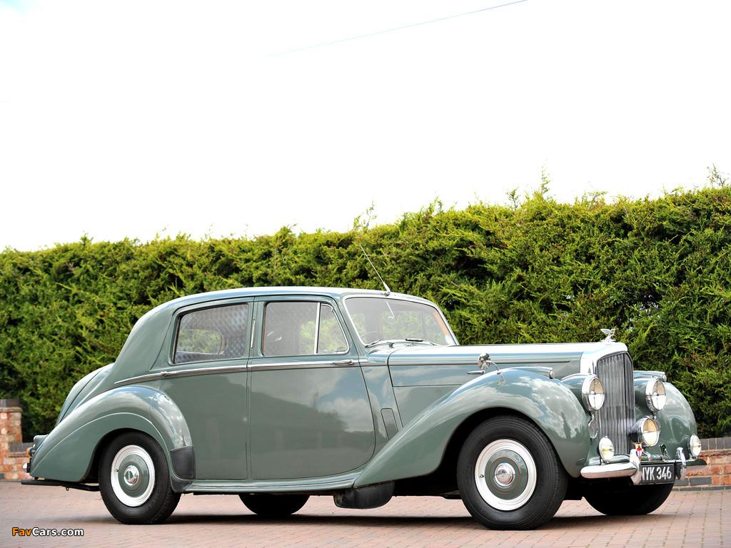 Photos of Bentley R-Type Standard Saloon 1952–55 (1024 x 768)