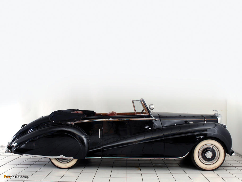 Pictures of Bentley R-Type Drophead Coupe Park Ward 1953 (1024 x 768)