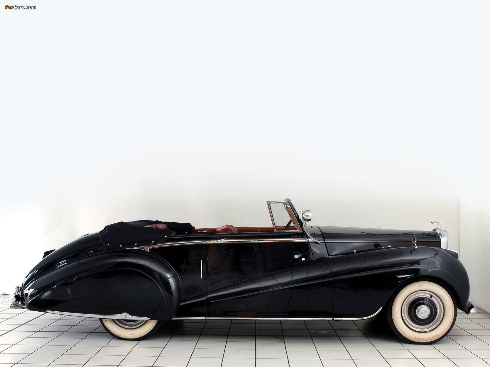 Pictures of Bentley R-Type Drophead Coupe Park Ward 1953 (1600 x 1200)