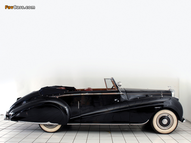 Pictures of Bentley R-Type Drophead Coupe Park Ward 1953 (640 x 480)
