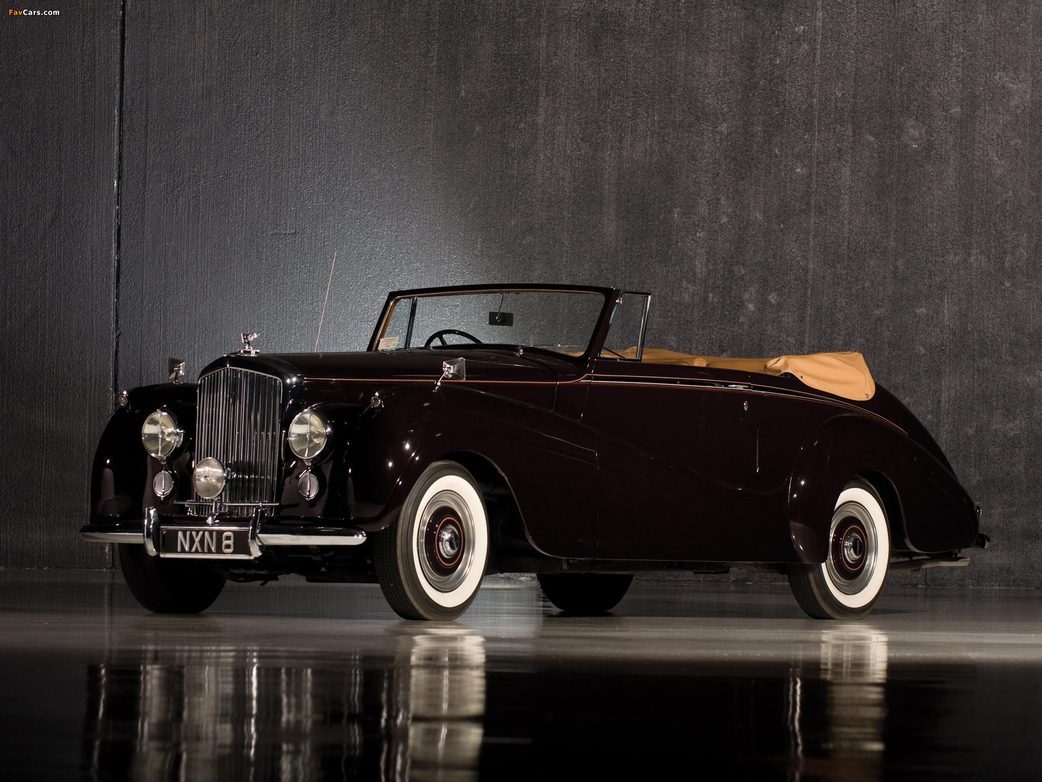 Bentley R-Type Drophead Coupe Park Ward 1953 wallpapers (2048 x 1536)