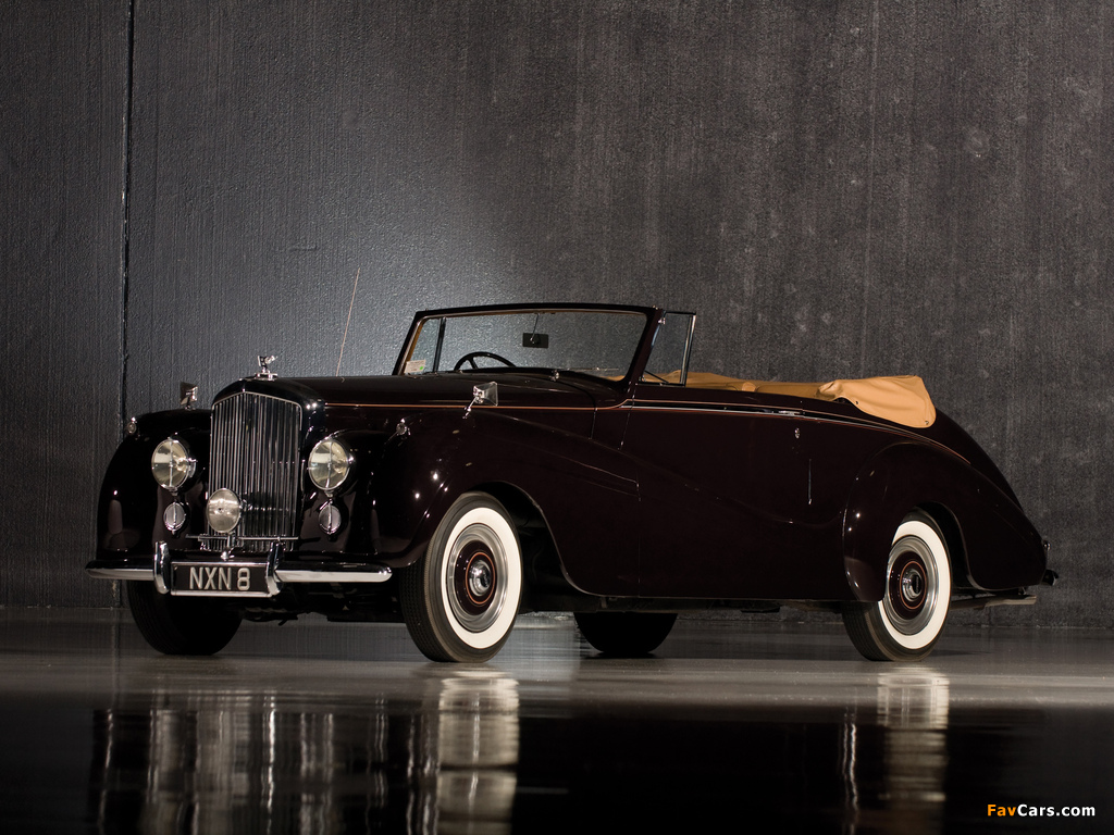 Bentley R-Type Drophead Coupe Park Ward 1953 wallpapers (1024 x 768)
