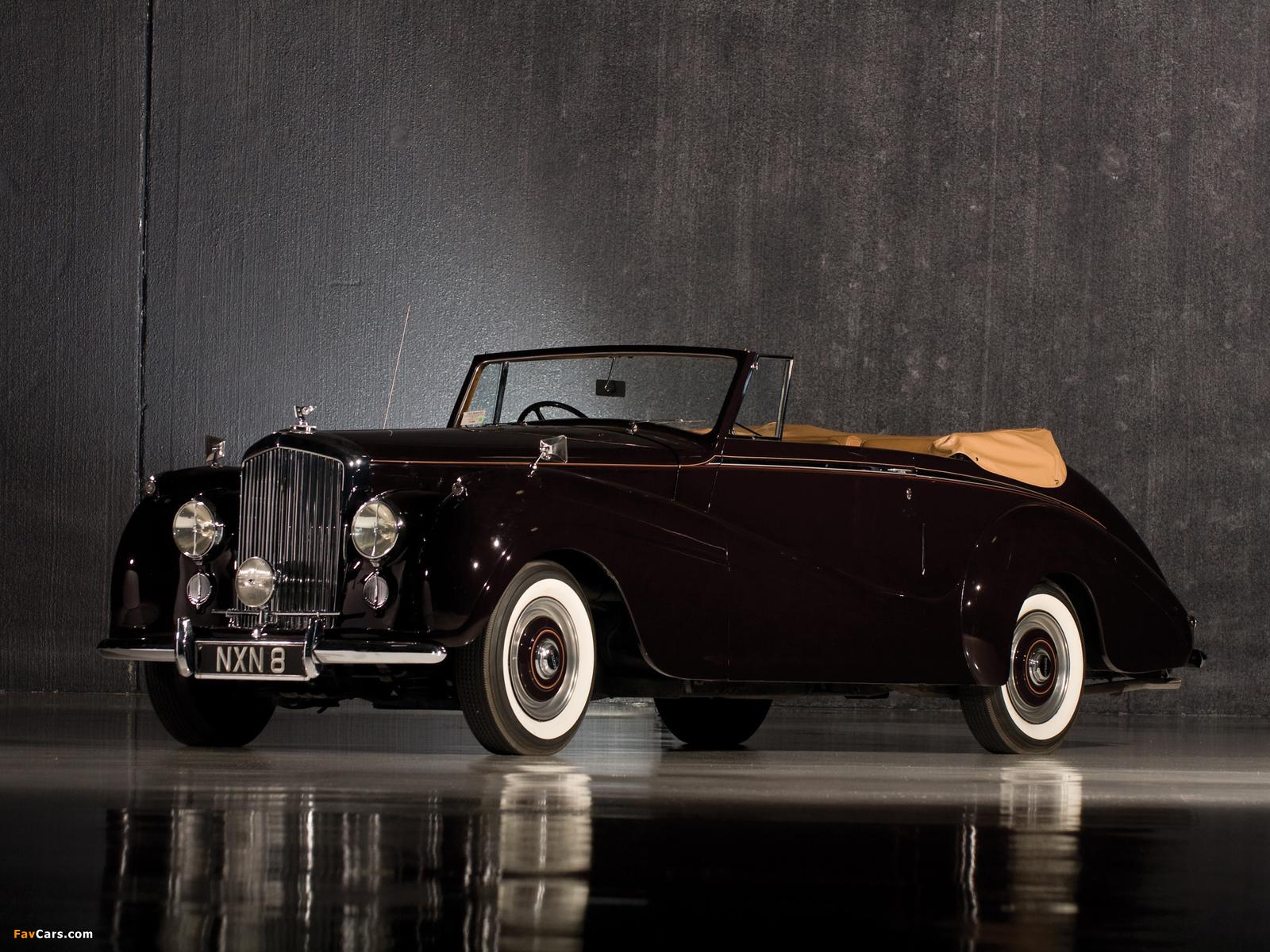 Bentley R-Type Drophead Coupe Park Ward 1953 wallpapers (1600 x 1200)