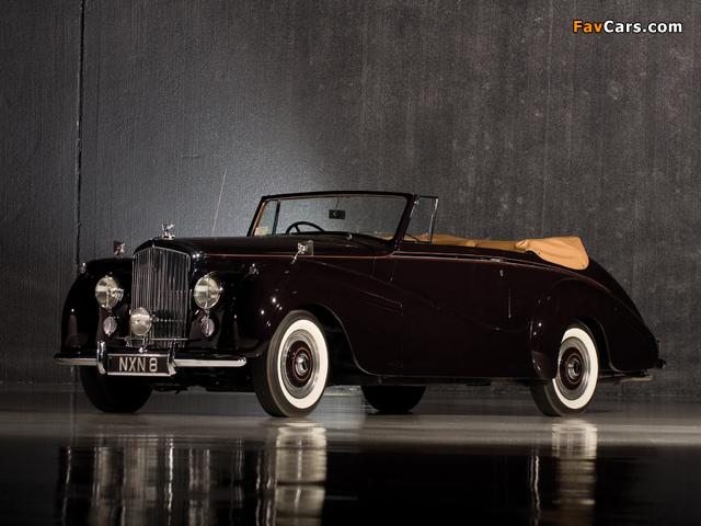 Bentley R-Type Drophead Coupe Park Ward 1953 wallpapers (640 x 480)