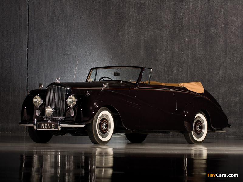 Bentley R-Type Drophead Coupe Park Ward 1953 wallpapers (800 x 600)