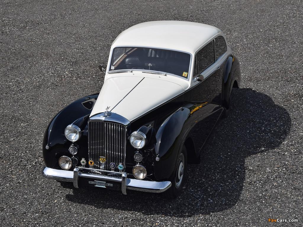 Bentley R-Type 2-Door Saloon by James Young 1953 wallpapers (1024 x 768)