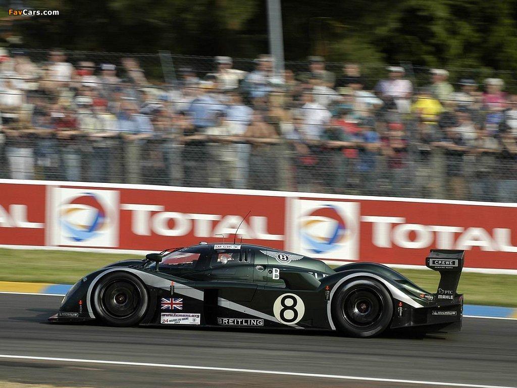 Bentley Speed 8 2003 images (1024 x 768)