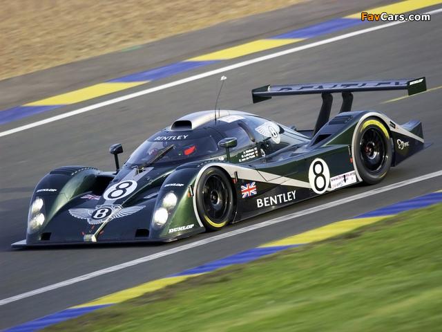 Photos of Bentley EXP Speed 8 2002 (640 x 480)