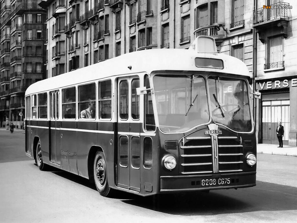 Berliet PCP10 1953 images (1024 x 768)