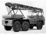 Berliet Griffet G8 6x6 Military Mobile Crane 1956–78 wallpapers