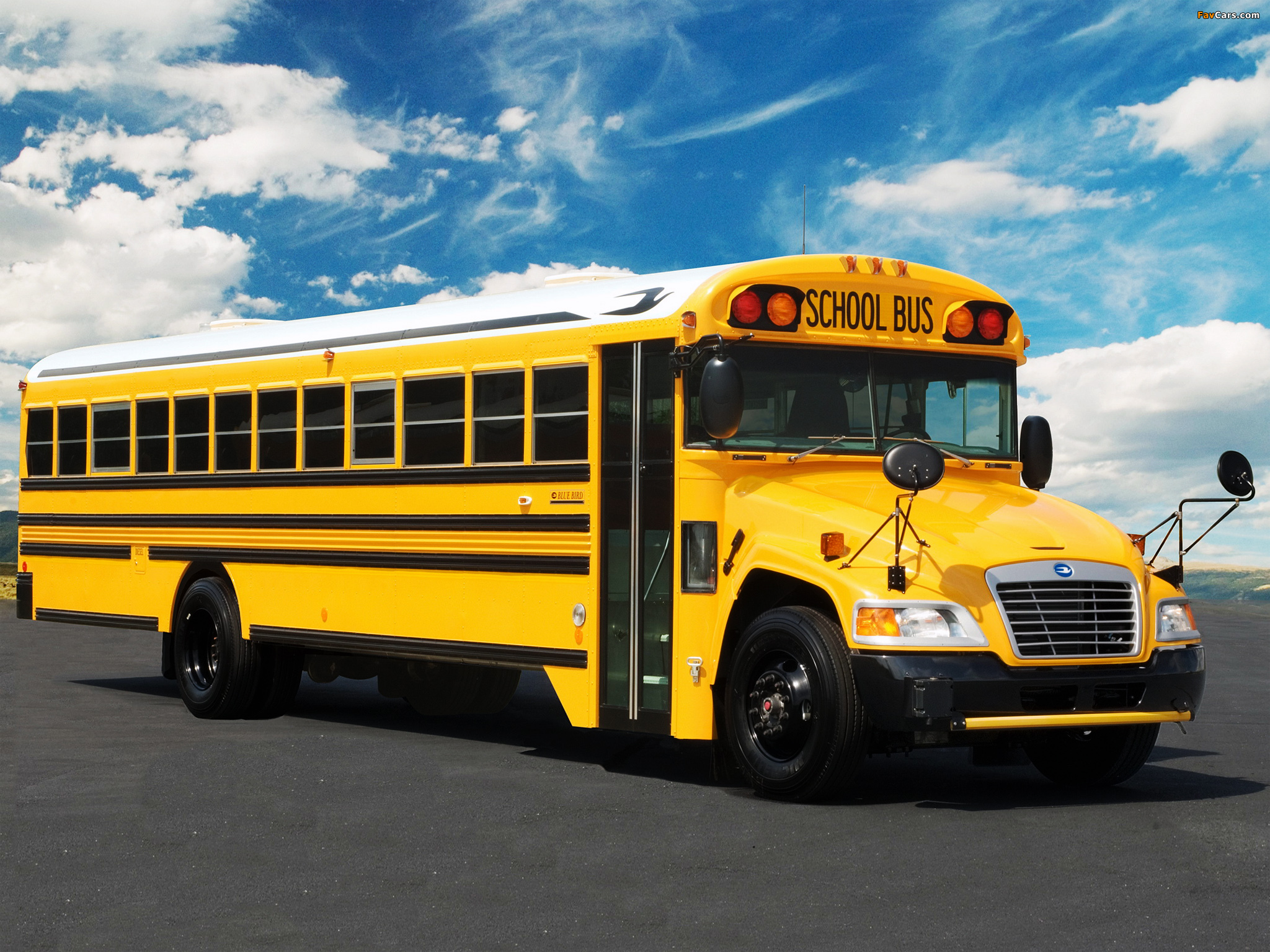 Blue Bird Bus >> Images of Blue Bird Vision School Bus 2008 (2048x1536)