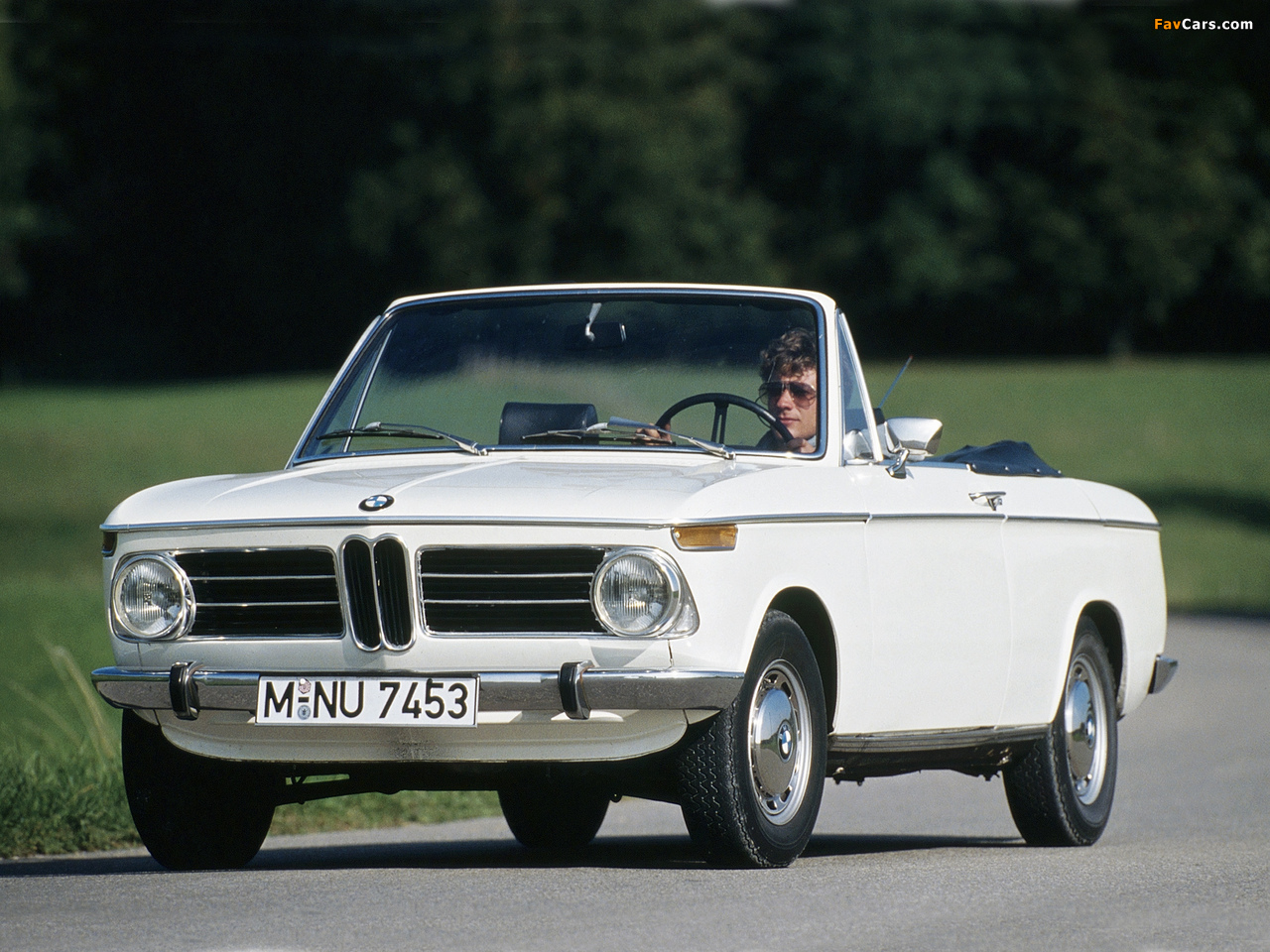 BMW 1600-2 Cabriolet (E10) 1967–71 wallpapers (1280 x 960)