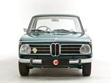 BMW 2002 Automatic UK-spec (E10) 1968–75 images