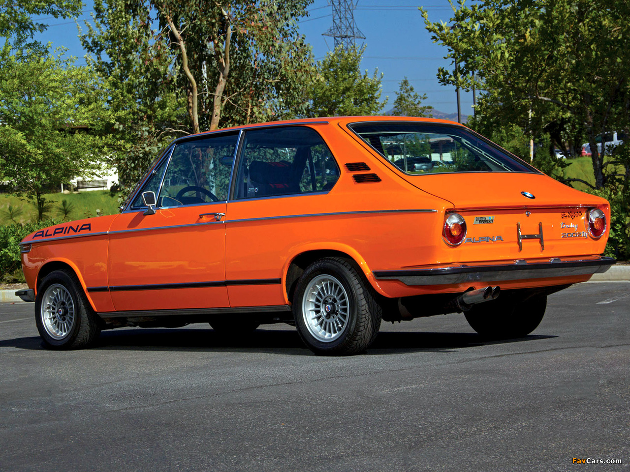Bmw 2002 Tii Touring By Alpina E10 1974 Wallpapers 1280x960