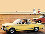 Images of BMW 2002 Cabriolet by Baur (E10) 1967–75