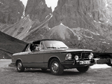 Photos of BMW 2002 Cabriolet by Baur (E10) 1967–75