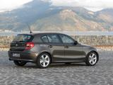 BMW 120d 5-door (E87) 2007–11 images