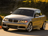 BMW 135i Coupe US-spec (E82) 2008–10 photos