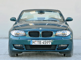 BMW 125i Cabrio (E88) 2008–10 pictures