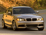 BMW 135i Coupe US-spec (E82) 2008–10 wallpapers
