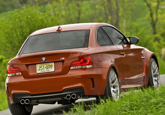 BMW 1 Series M Coupe US-spec (E82) 2011 images