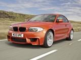 BMW 1 Series M Coupe UK-spec (E82) 2011 images