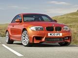 BMW 1 Series M Coupe UK-spec (E82) 2011 photos