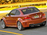 BMW 1 Series M Coupe US-spec (E82) 2011 wallpapers