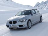 BMW 120d xDrive 5-door Sport Line (F20) 2012 images