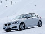 BMW 120d xDrive 5-door Sport Line (F20) 2012 photos