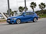 BMW 116i 3-door M Sports Package ZA-spec (F21) 2012 photos
