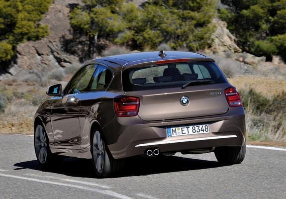 BMW 125d 3-door Urban Line (F21) 2012 pictures