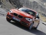 BMW 120d xDrive 5-door Sport Line (F20) 2012 pictures