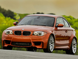 Images of BMW 1 Series M Coupe US-spec (E82) 2011