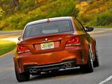 Photos of BMW 1 Series M Coupe US-spec (E82) 2011