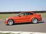 Photos of BMW 1 Series M Coupe UK-spec (E82) 2011